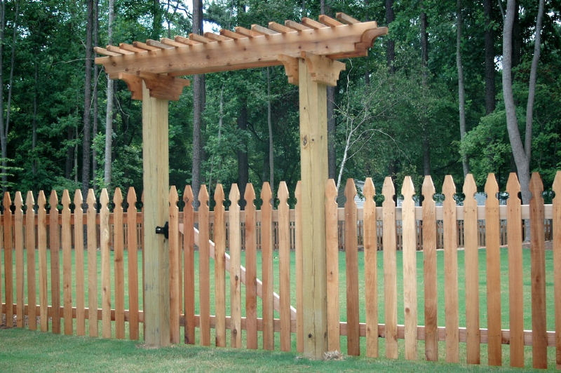 Arbors And Trellises Allied Fence