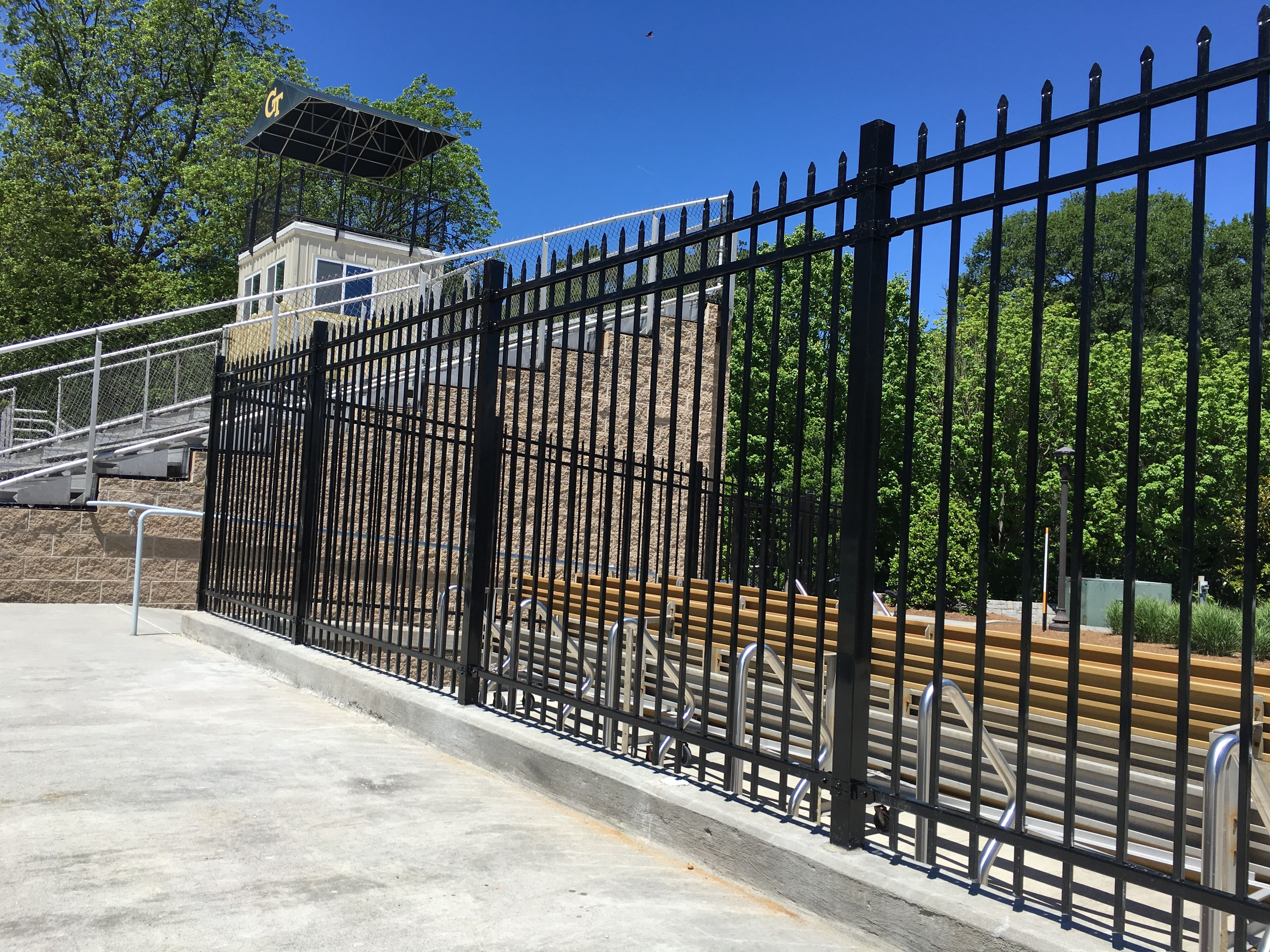 GT Steel Fencing Install - Spring 2017