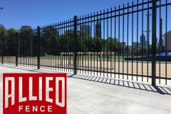 Griffin Track Ornamental Steel Fencing