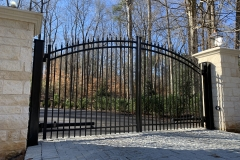 Custom Iron Driveway Gates