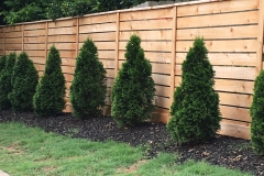 Custom Horizontal Semi-Private Fencing
