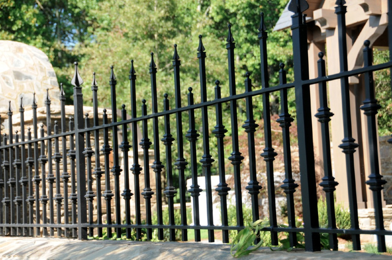 Decorative Steel Fencing ornamental iron - allied fence