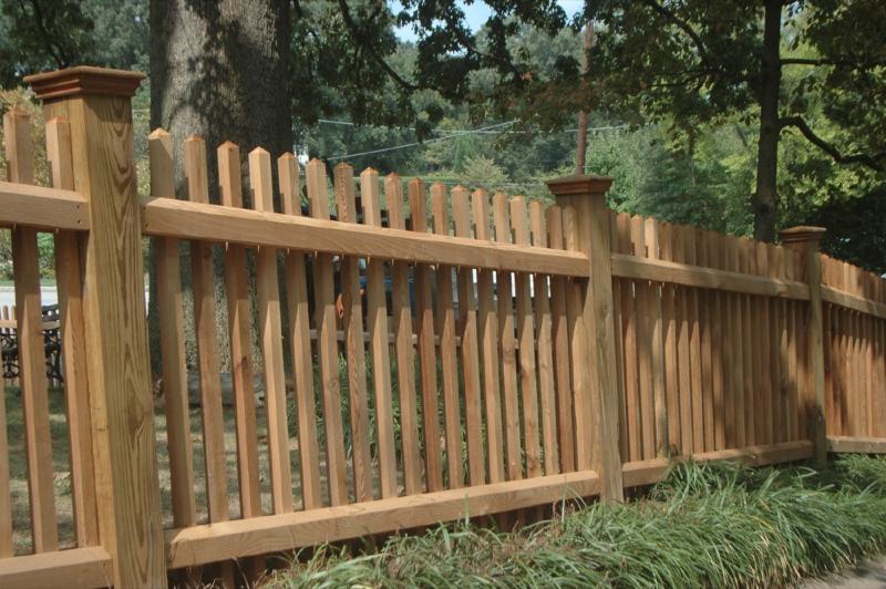 Fence Styles : Allied Fence  Custom Cedar Fence & Gate Designs