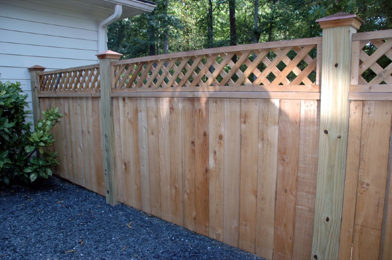 Custom cedar fence gate designs allied