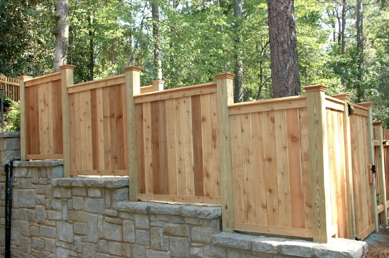 Custom cedar fence gate designs allied fence Fence planner