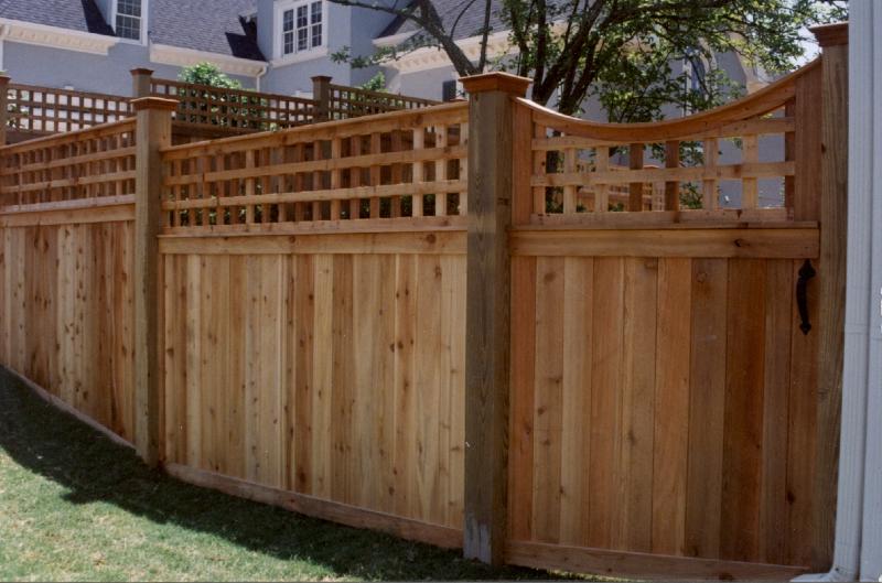Custom Cedar Fence Gate Designs Allied Fence - The-unusual-cedar-residence