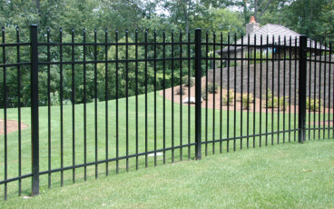 Allience Aluminum Fencing - Arora with Standard Picket