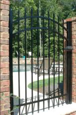 Allience Aluminum Fencing - Arora Arch Gate