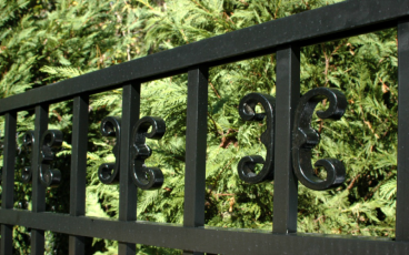 Allience Aluminum Fencing - Eve with Butterfly Scrolls