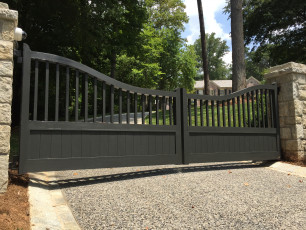 Valley Rd Custom Gate