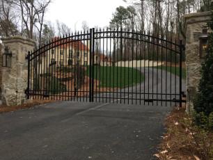 Ornamental Iron Gate