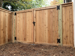 Vinings Cedar Double Gate