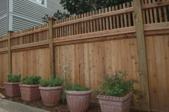 Prado Signature Cedar Fencing